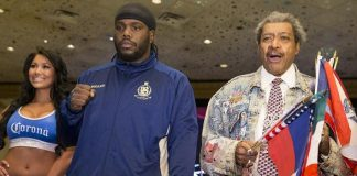 """Bermane Stiverne, Deontay Wilder, Promoter Don King and """"Return to Glory"""" Undercard Fighters Arrive at MGM Grand in Las Vegas"""