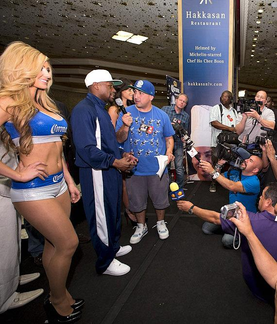 Floyd Mayweather at MGM Grand in Las Vegas