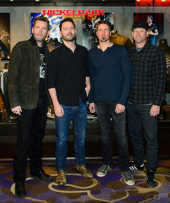 """Nickelback Rocks into Las Vegas with """"Feed the Machine"""" Residency at The Joint at Hard Rock Hotel Las Vegas"""