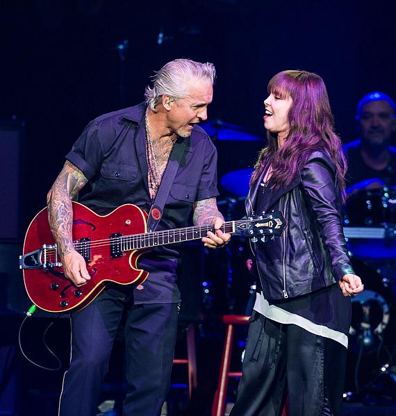 Pat Benatar & Neil Giraldo perform at The Joint at Hard Rock Hotel & Casino