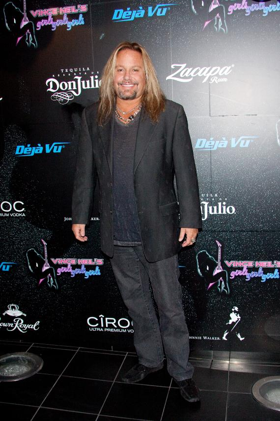 Vince Neil celebrates 52nd birthday in Las Vegas