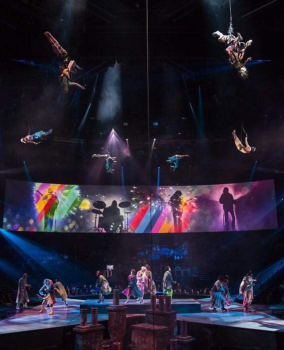 """Get Back"" from ""The Beatles LOVE"" by Cirque du Soleil"