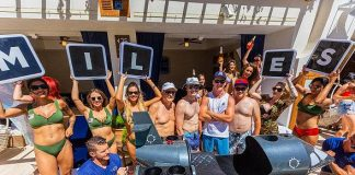 "Actor Miles Teller's Weekend of ""Kaos"" at His Bachelor Party at Palms Casino Resort in Vegas"