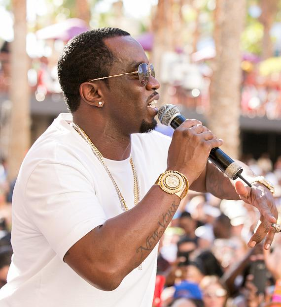 Puff Daddy and Flo Rida Host Legendary Fourth of July Weekend Celebration at Hard Rock Hotel Las Vegas