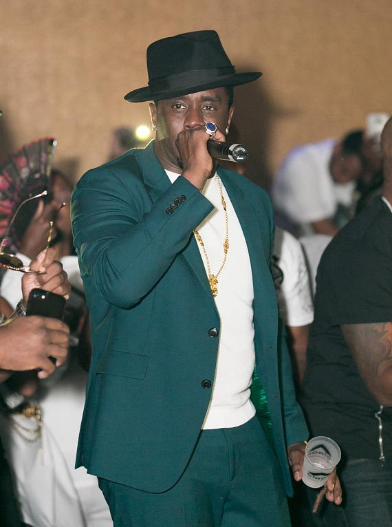 Puff Daddy, Meek Mill, Ice Cube and More Celebrate Historic Fight Weekend at Hard Rock Hotel & Casino Las Vegas