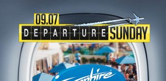 """Sapphire Pool & Day Club to Host """"Departure Sunday"""" with Music by HardNox Sept. 7"""
