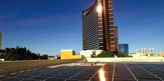 Wynn Las Vegas Introduces Solar Energy Facility That Will Enable Future Development, Paradise Park, To Run On 100 Percent Renewable Energy