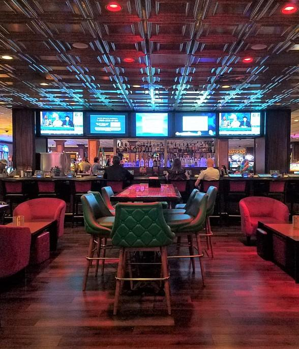 El Cortez Hotel Casino Opens Ike S Bar Expansion Includes New Lounge Seating Options Sports Viewing Area
