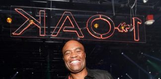 Anderson Silva Hosts Fight After Party at 1 OAK Las Vegas