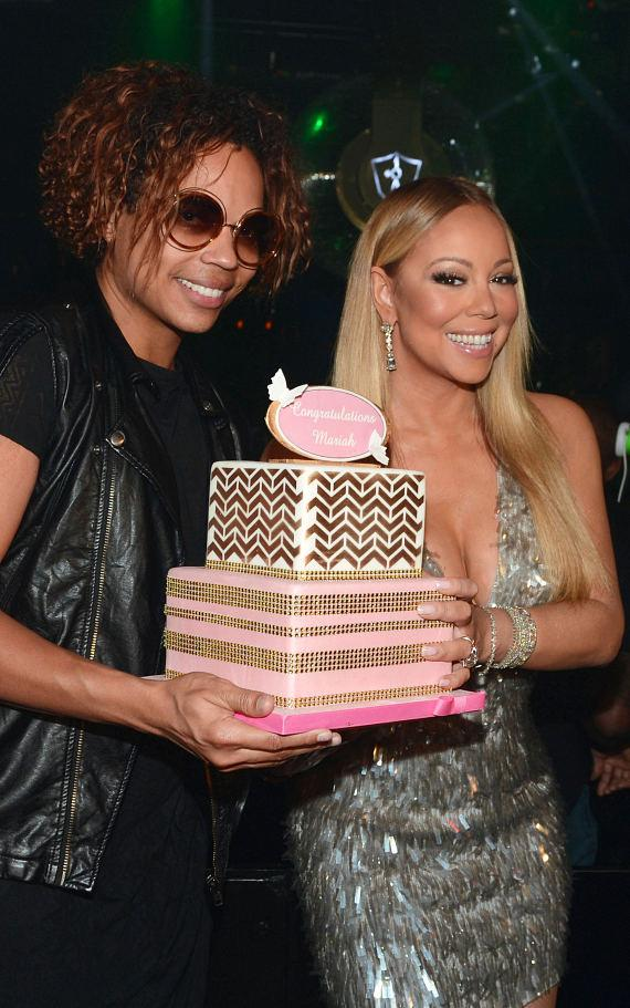 B. Scott and Mariah Carey celebrate 'Mariah #1 to Infinity' wrap party at 1 OAK Nightclub at The Mirage Hotel & Casino