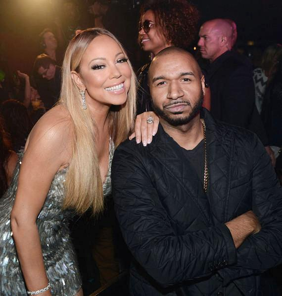 Mariah Carey and DJ Suss One celebrate 'Mariah #1 to Infinity' wrap party at 1 OAK Nightclub at The Mirage Hotel & Casino