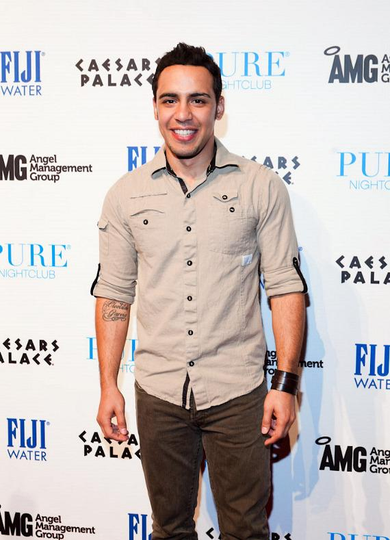 Victor Rasuk at PURE Nightclub