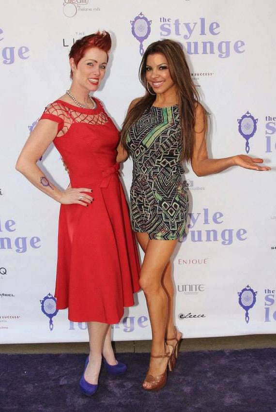 Hairby Andeen and Nieve Malandra at The Style Lounge