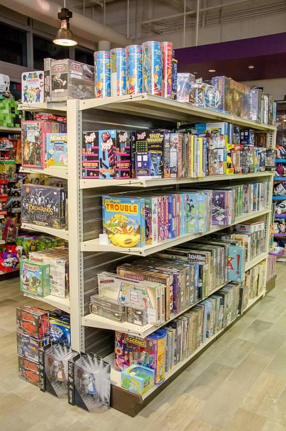 Games and puzzles at The Toy Box in Downtown Summelin