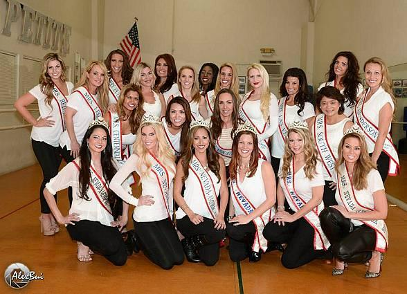 Delegates scheduled to compete in the 2015 Mrs. Nevada America Pageant