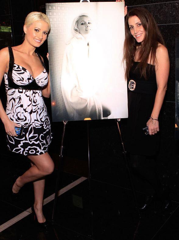Holly Madison and photographer Denise Truscello