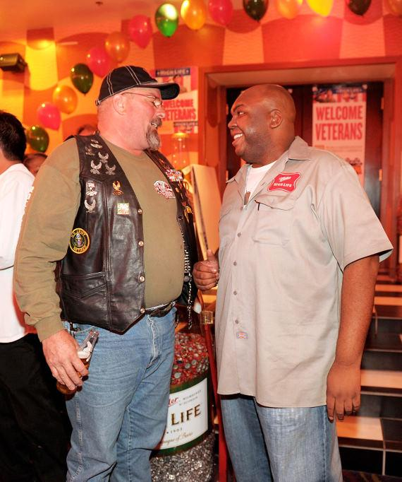 Veteran with High Life delivery guy Windell Middlebrooks