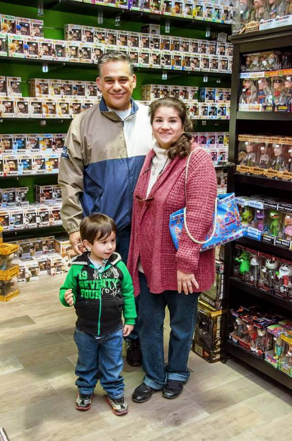 A family explores the The Toy Box in Downtown Summerlin