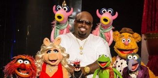 Disney's The Muppets perform with CeeLo Green at Planet Hollywood Resort & Casino
