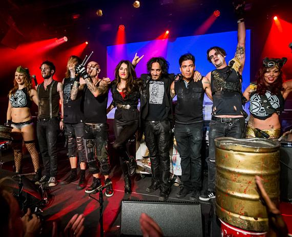 """Street Drum Corps performs """"Lost Vegas"""" with Special Guest Roy Mayorga"""