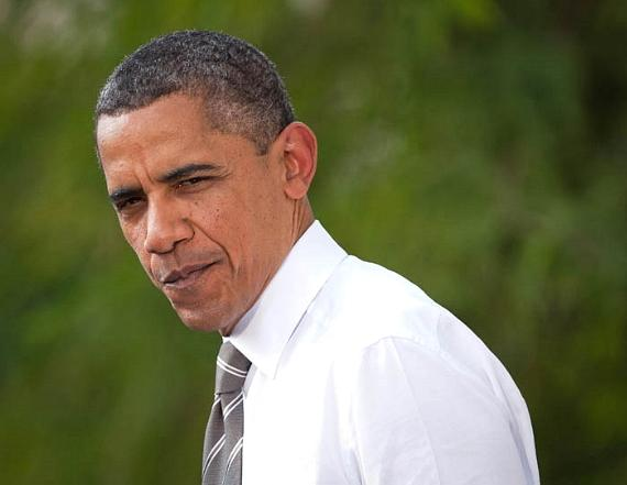 President Barack Obama stopped in a Las Vegas Neighborhood to visit a family and unveil his new housing and job plans