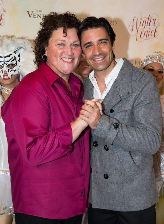 Dot-Marie Jones and Gilles Marini