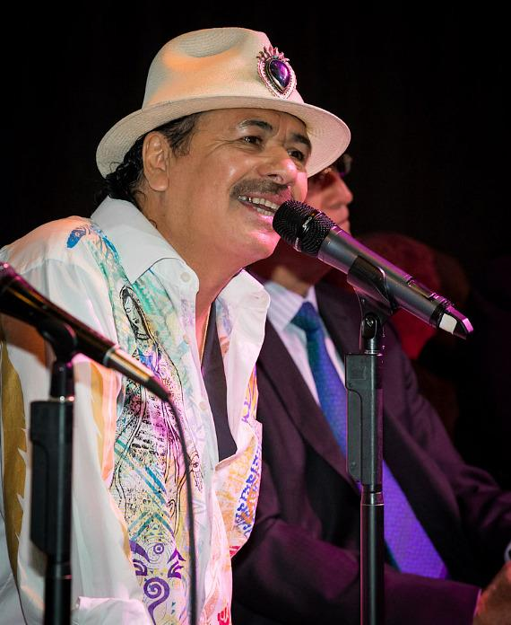 Carlos Santana holds press conference to announce new album