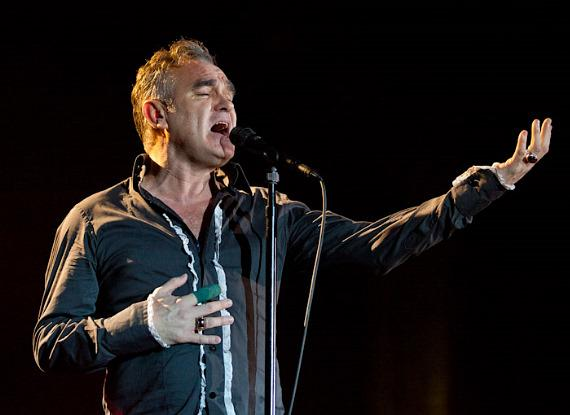 Morrissey performs at The Chelsea at The Cosmopolitan of Las Vegas