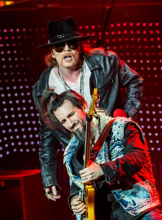 Guns N' Roses Perform 'Appetite For Democracy' Show at The Joint in Las Vegas