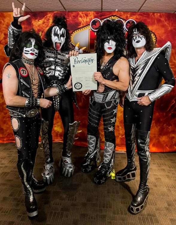 """Nov. 7 Declared """"Kiss Rocks Vegas Day"""" in Honor of KISS' First-Ever Residency at The Joint in Hard Rock Hotel & Casino"""