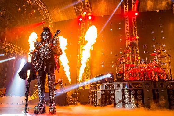 KISS rocks The Joint at Hard Rock Hotel Las Vegas