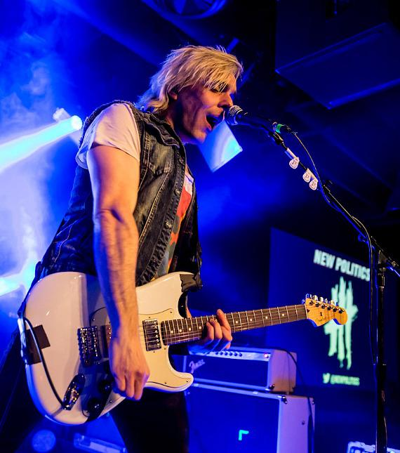 Indie Rock Band New Politics Performs at Vinyl Las Vegas in Hard Rock Hotel & Casino