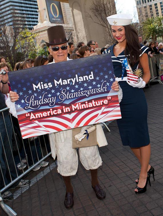 Miss America Contestants in
