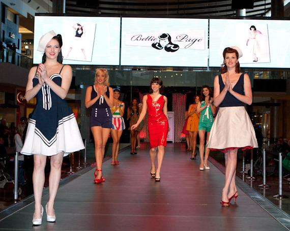 Bettie Page Clothing Fashion Show