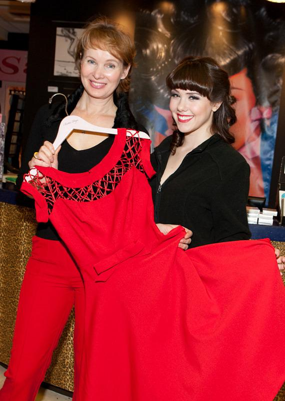 Fashion designer Tatyana and Claire Sinclair