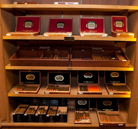 Cigars in the Humidor