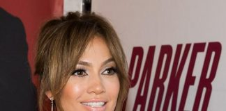 Jennifer Lopez at Red Carpet Premiere of PARKER at Planet Hollywood