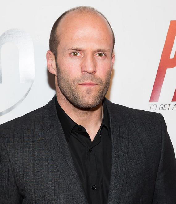Jason Statham at Red Carpet Premiere of PARKER at Planet Hollywood
