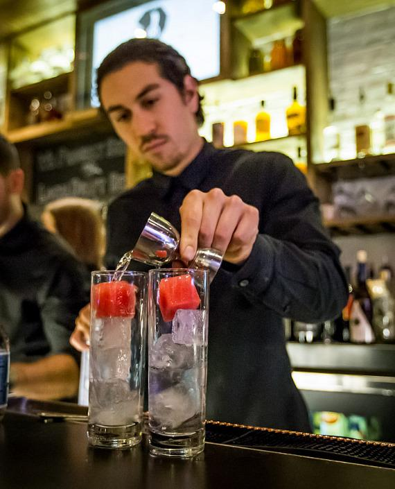 Bartender at Yardbird Southern Table & Bar at The Venetian Las Vega