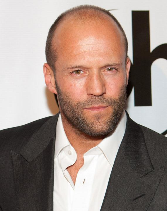 """Jason Statham at """"The Mechanic"""" movie premiere at Planet Hollywood"""