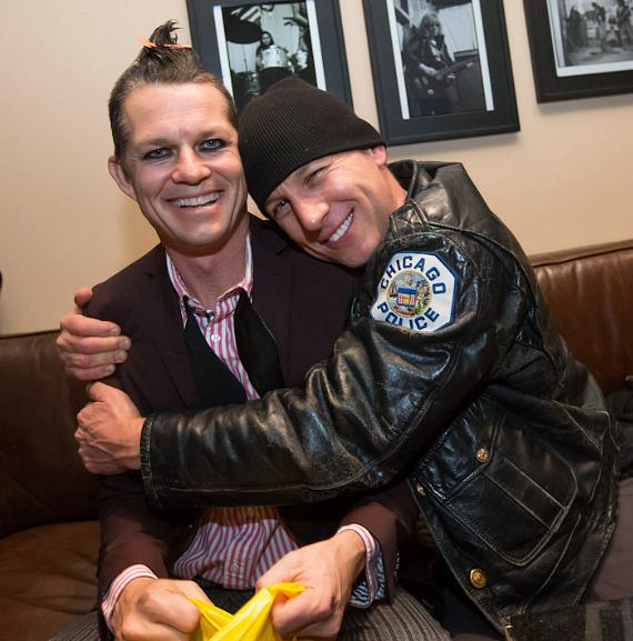 Adrian Young of No Doubt and Stephen Perkins of Jane's Addiction