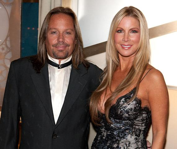 Vince Neil and Alicia Jacobs