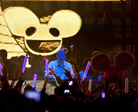 deadmau5 performs at XS Nightclub in Las Vegas
