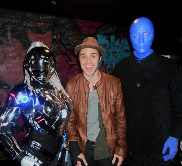 """American Idol"" Star Kris Allen Spotted at Blue Man Group in Monte Carlo Resort and Casino"