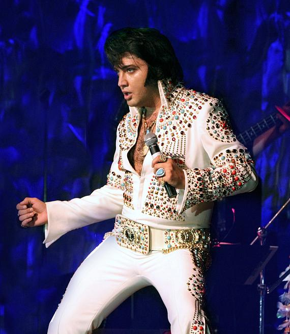 Elvis Tribute Artist Justin Shandor will be featured at Christmas Crooner