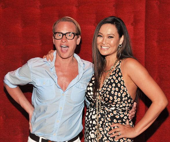 Carson Kressley and Tia Carrere