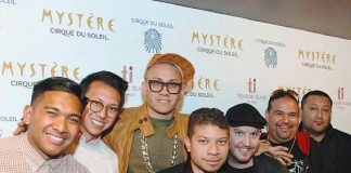 Taboo of Black Eyed Peas attends Mystère by Cirque du Soleil