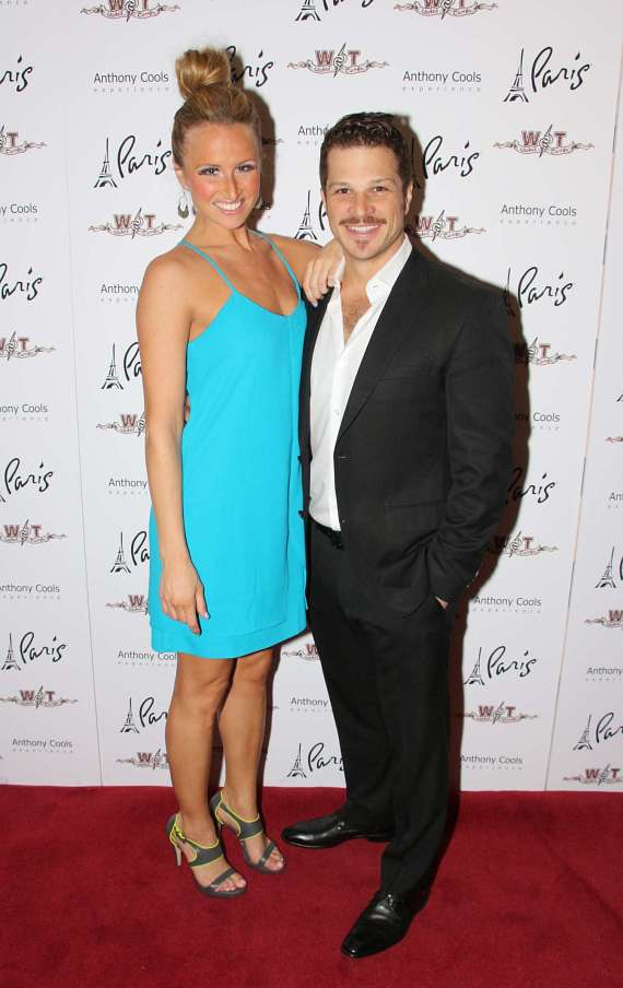 Becca Kotte and Mark Shunock of Rock of Ages