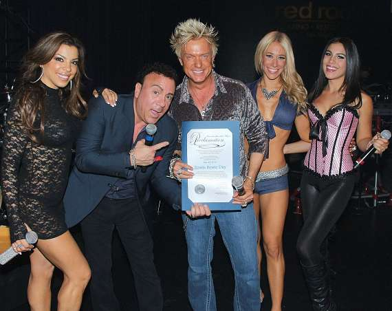 "Chris Phillips receives official proclamation of ""Zowie Bowie Day"""