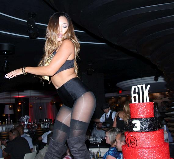 Dancer with STK 3-Year Anniversary Cake